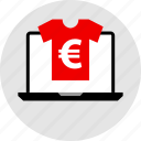 clothing, shirt, tee icon