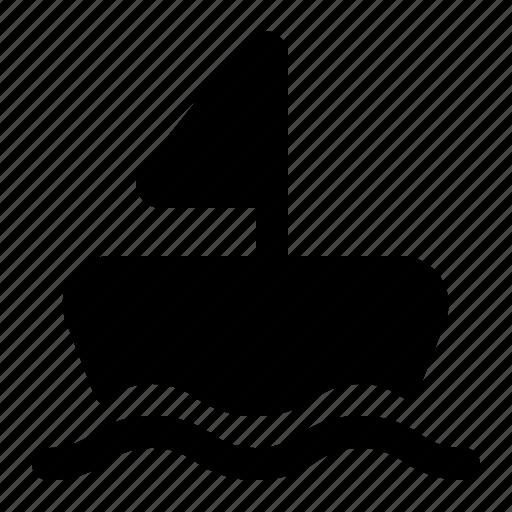 boat, sail, ship, summer, travel, vacation icon