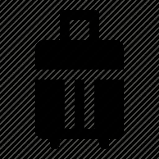 bag, flight, journey, luggage, suitcase, travel icon