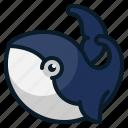 animal, fish, ocean, sea, whale