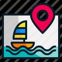 direction, gps, map, navigation, pointer, sea, travel