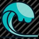 ocean, sea, surfing, water, wave