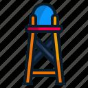 beach, chair, lifeguard tower, summer, swimmer, watch icon
