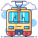 mrt, railway, train, transportation icon