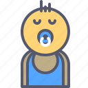 baby, boy, child, family, kid, newborn icon