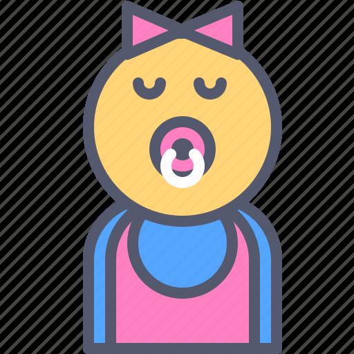 Baby, child, family, girl, kid, newborn icon - Download on Iconfinder