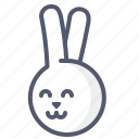 animal, bunny, easter, mascot, pet, zoo