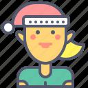 christmas, elf, gifts, girl, santa, stories