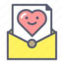 evenlope, love, mail, message, romance, words