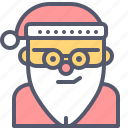 christmas, gifts, presents, santaclause, winter icon