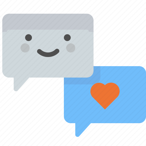 Chat, love, message, romance, words icon - Download on Iconfinder