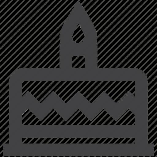 birthday, cake, celebration, christmas, holiday, season icon