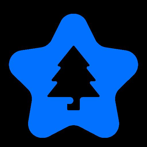 bookmark, christmas, favourite, star icon