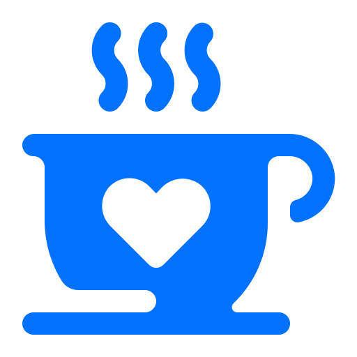 cafe, coffee, drink, valentine icon