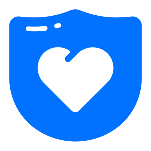 heart, love, protection, security icon