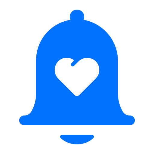 alert, love, notification, valentine icon