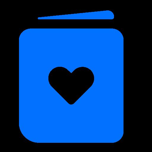 card, greeting, love, valentine icon