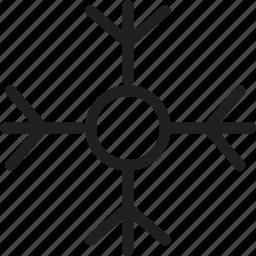 christmas, flake, ice, snow, snowflake, weather, winter icon