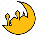 islam, islamic, moon, ramadan icon