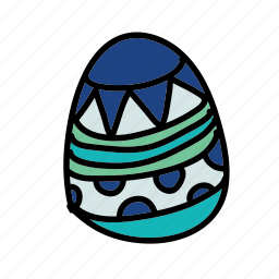 easter, egg, holiday icon