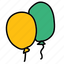 ballon, ballons, birthday, party icon