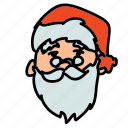 holiday, holidays, santa, santa claus icon