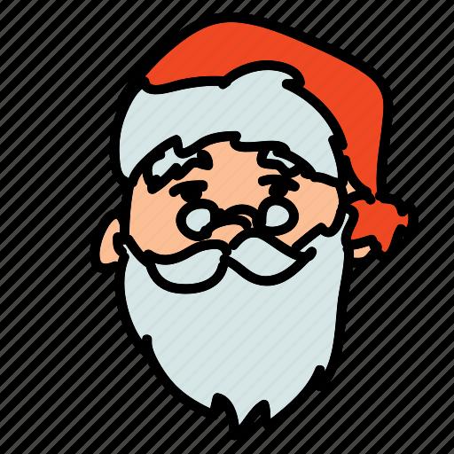 holiday, holidays, santa, santa claus icon