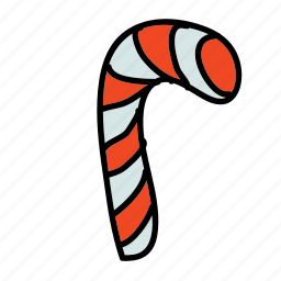 candy, cane, christmas, holidays, sugar, xmas icon