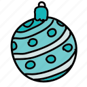 ball, christmas, holiday, holidays, xmas icon