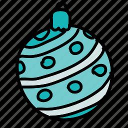 ball, christmas, holiday, holidays, xmas icon