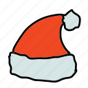 christmas, hat, holidays, santa, x-mas, xmas icon