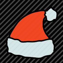christmas, hat, holidays, santa, x-mas, xmas icon