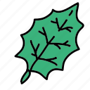 christmas, green, holidays, leaf, tree leaf, vine icon