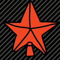 christmas, star, tree decoration, x-mas, xmas icon