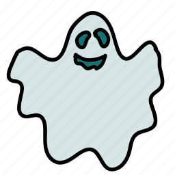 ghost, halloween, scary icon