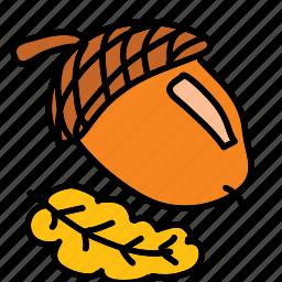 chestnut, nut icon