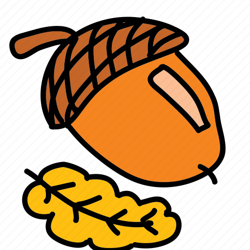 chestnut, nut icon