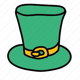hat, luck icon
