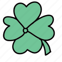 clover, fortune, leaf, luck icon