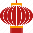chinese, festival, lantern, lunar, new, red, year icon