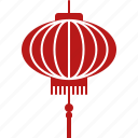 chinese, festival, lantern, lunar, new, red, year