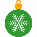 christmas, decor, green, holiday, ornament, tree, xmas icon