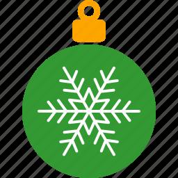 christmas, decor, green, holiday, ornament, tree, xmas icon