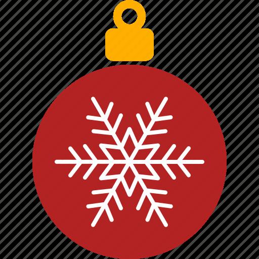 christmas, decor, holiday, ornament, red, tree, xmas icon