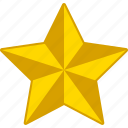 christmas, decoration, gold, holiday, premium, rating, star icon