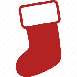 christmas, decoration, holiday, sock, stocking, stuffer, xmas icon