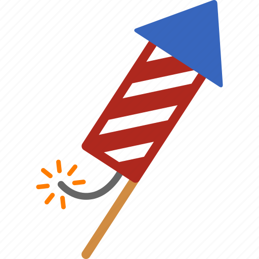 celebrate, celebration, firecracker, firework, fireworks, july 4th, rocket icon
