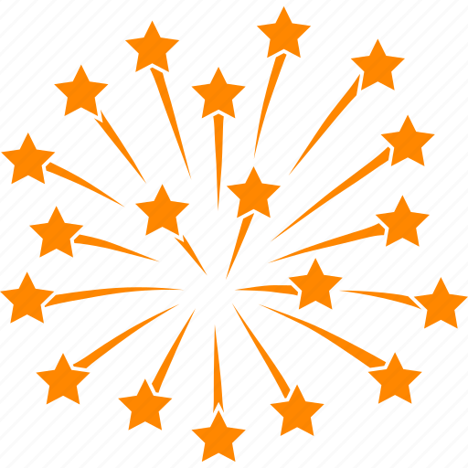 celebrate, celebration, firecracker, firework, fireworks, july 4th, stars icon