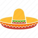 celebration, cinco de mayo, cowboy, hat, mexican, sombrero, sumbrero icon