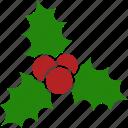berries, christmas, decoration, kiss, leaves, mistletoe, tradition